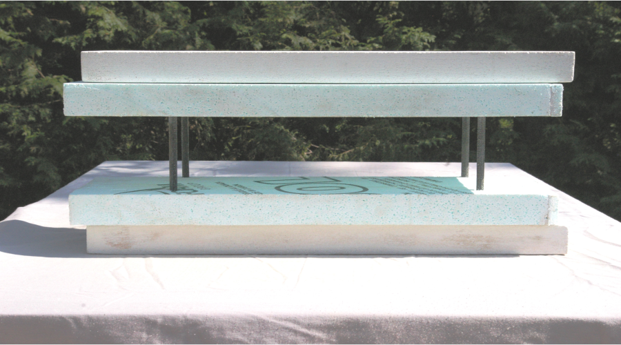 Insulated Fireproof Concrete Forms (ICFCF)