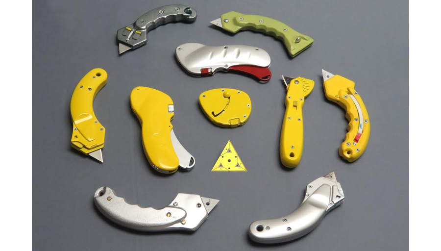 6 Cutting Edge Blades and Utility Knife System